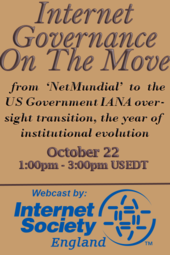 Internet Governance On The Move