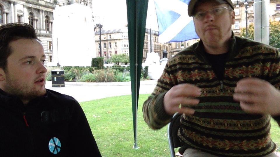 Day 6/7 - Glasgow's Needy occupy George Square