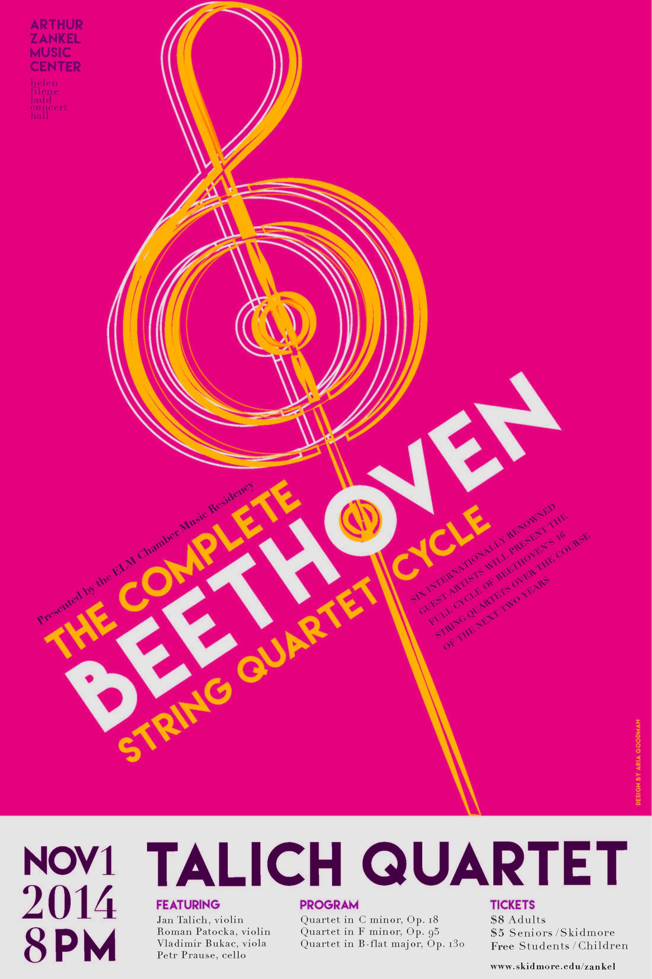 11/1/14 Talich Quartet on Livestream