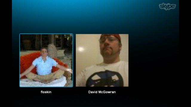 Florenci Ferrusola live from Barcelona via Skype