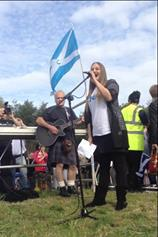 New United 45 plus Rally in Edinburgh
