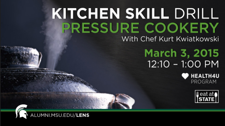 livestream cover image for KSD | Pressure Cookery