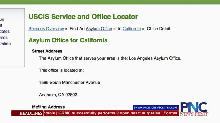 Asylum Office Locator