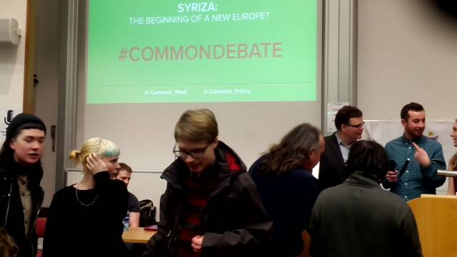 #commondebate Syriza