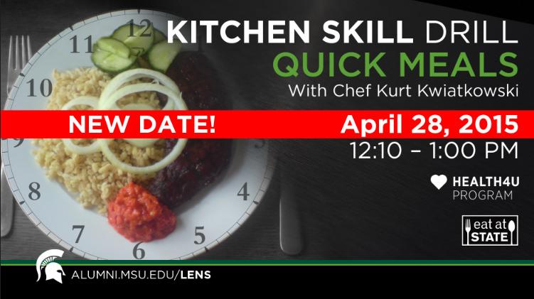 Livestream cover image for KSD   Quick Meals