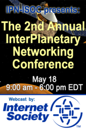 The 2nd Annual InterPlanetary Networking Conference