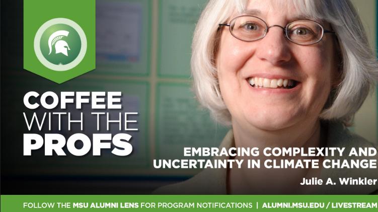 Livestream cover image for Julie A. Winkler   Climate Change