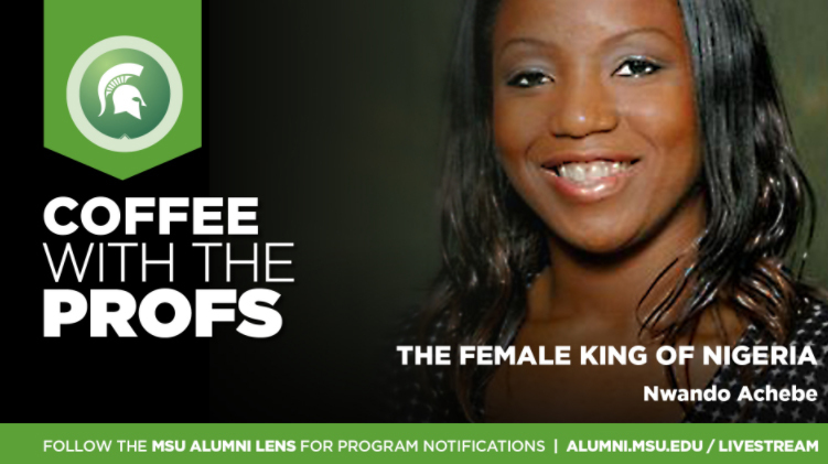 Livestream cover image for Nwando Achebe   The Female King of Nigeria