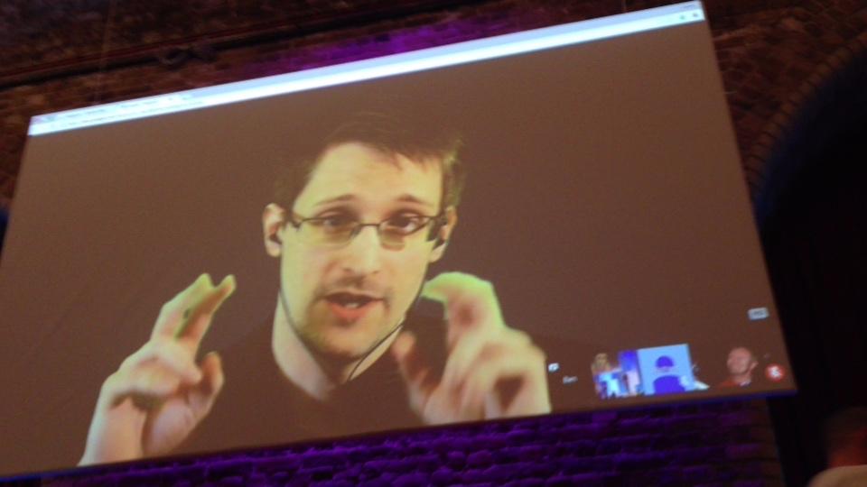 Vivienne Westwood/ Edward Snowden interview FutureFest London