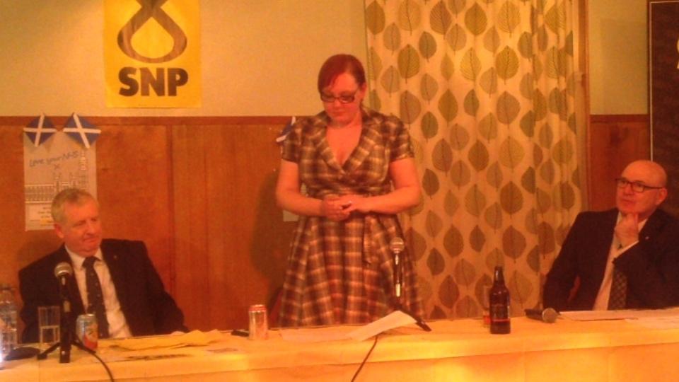 Douglas Chapman, Dunfermline & West Fife SNP Candidate Adoption Event