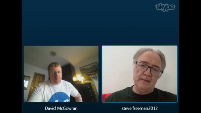 Skype Conversation with Steve Freeman