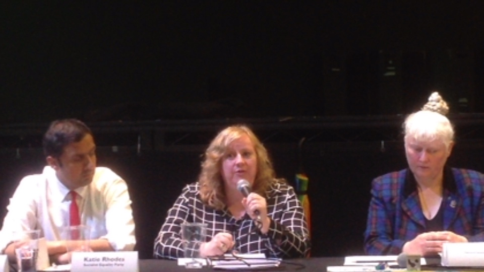 Glasgow Central - Hustings Event, Garnethill Community Council