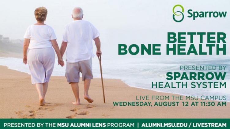 Livestream cover image for Sparrow     Better Bone Health