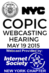 COPIC Webcasting Hearing 5/19/15