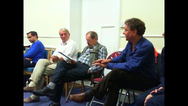 Glasgow Homelessness Casework strikers - Edinburgh RIC meeting