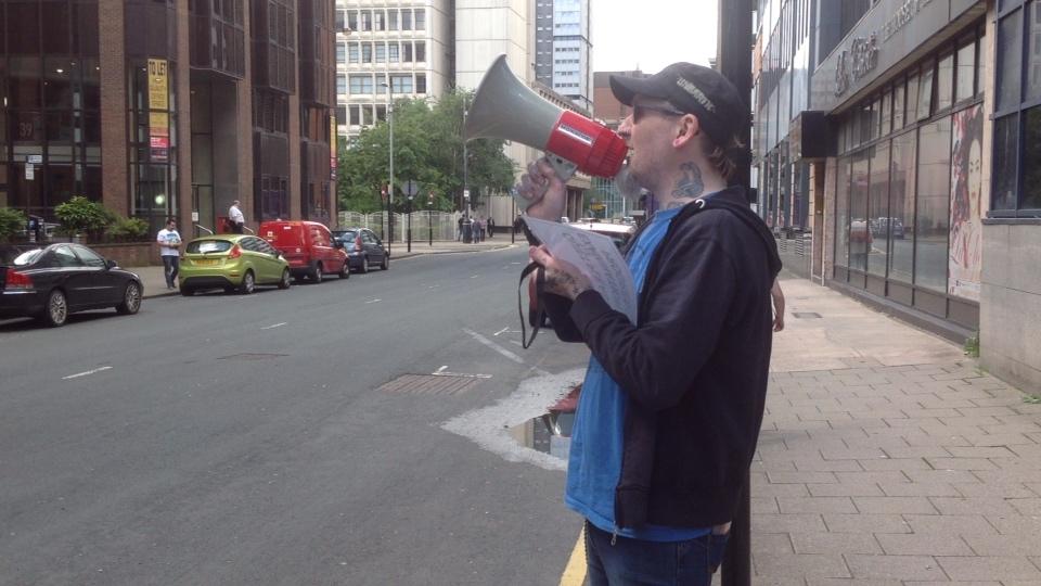 Anti Austerity Protest Against ATOS