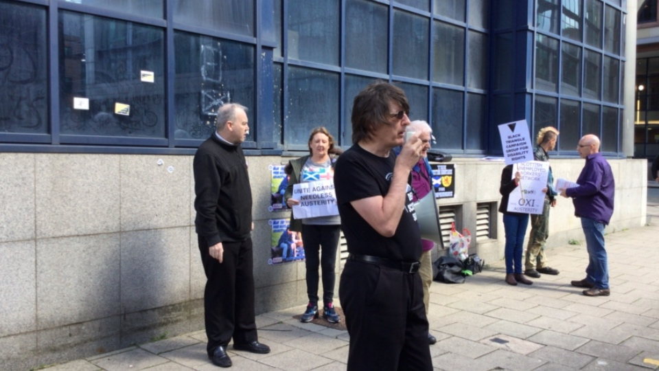 Protest Against ATOS MAXIMUS
