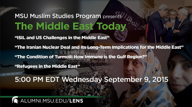 livestream cover image for The Middle East Today
