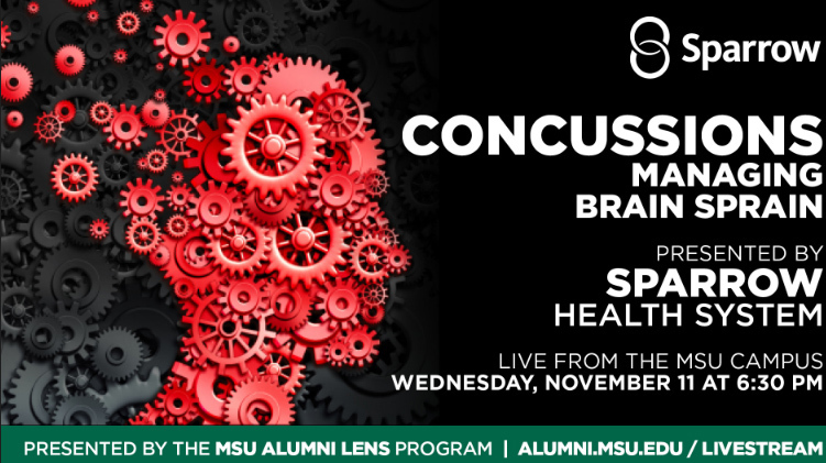 livestream cover image for Sparrow | Concussions: Managing Brain Sprain