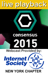 Consensus 2015 Live Playback