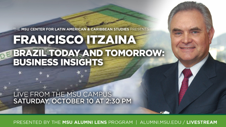 livestream cover image for Francisco Itzaina | Brazil Today and Tomorrow: Business Insights