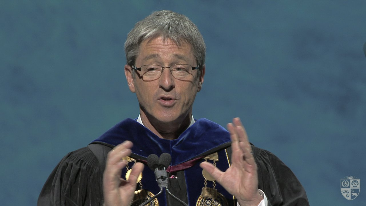 Timothy, Carol's husband Inaugurated as the 16th President of Loyola Marymount University