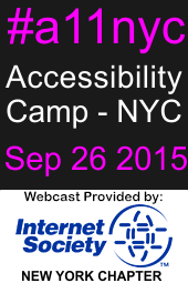 Accessibility Camp - NYC