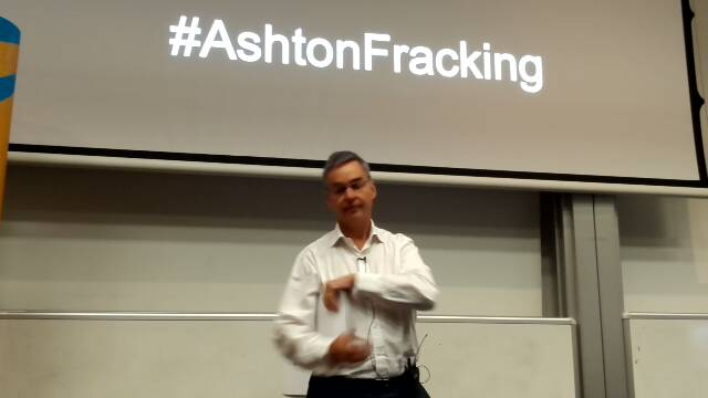 John Ashton on fracking: for whom and at what cost