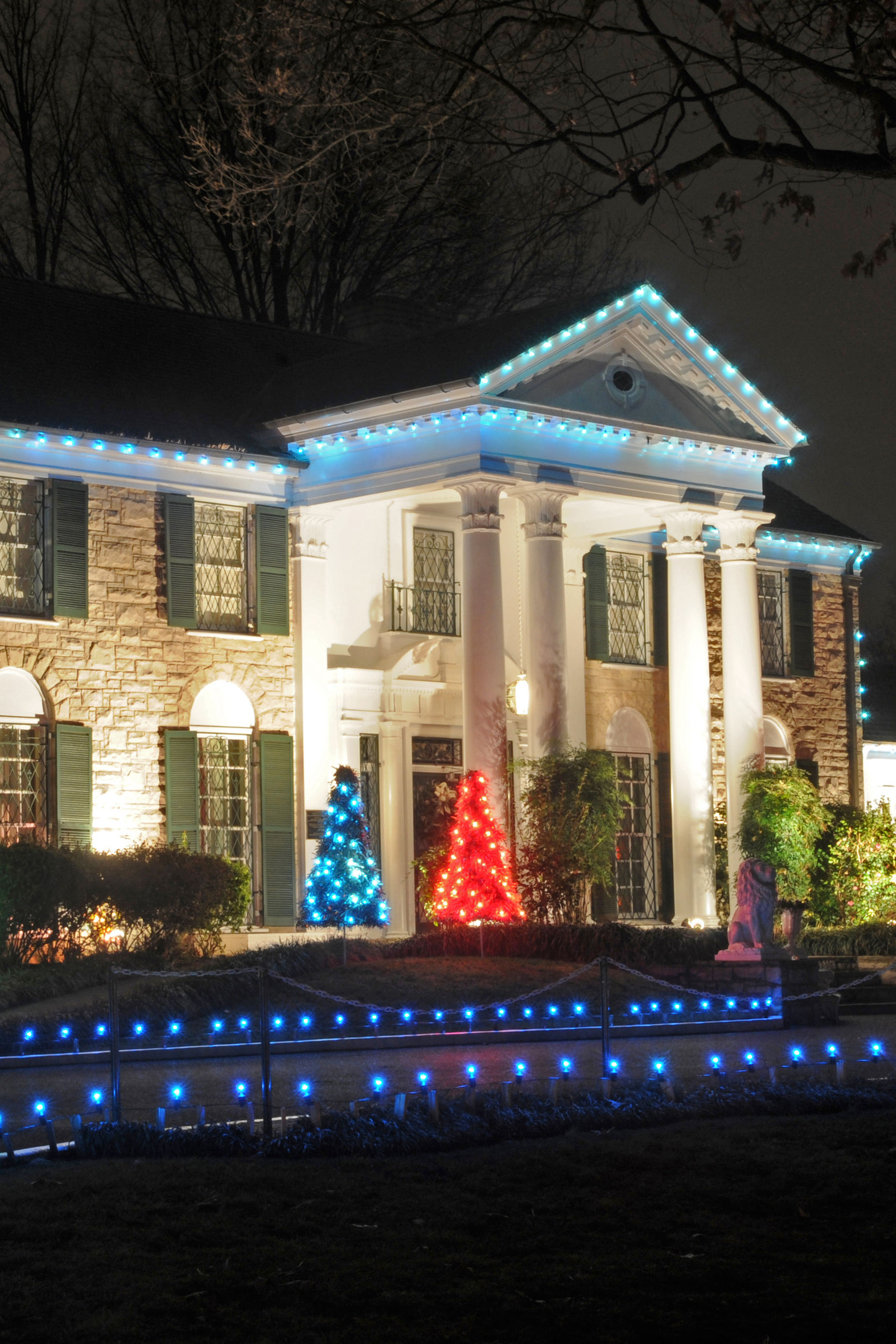 2015 Graceland Christmas Lighting Ceremony On Livestream