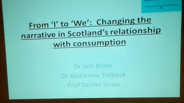 Kicking our consumer habit with Dr Iain Black