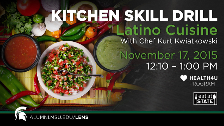 livestream cover image for KSD |  Latino Cuisine