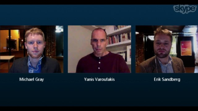 Yanis Varoufakis interview, Nov 2015