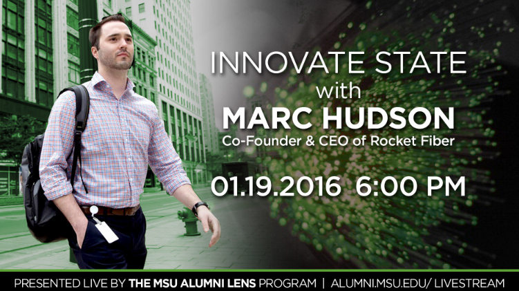 livestream cover image for Marc Hudson | Innovate State