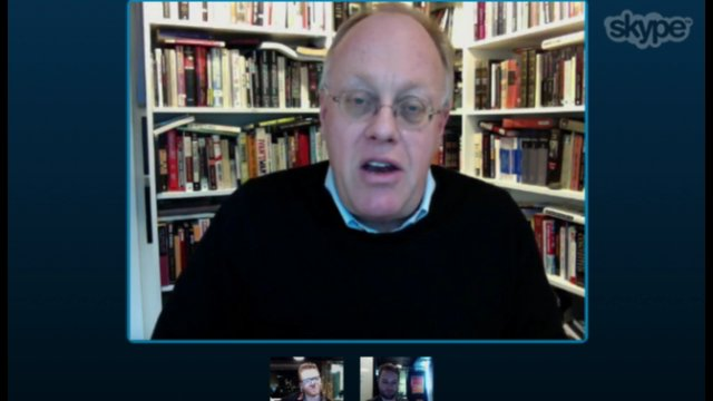 Kiltr: Loki interviewing American journalist Chris Hedges