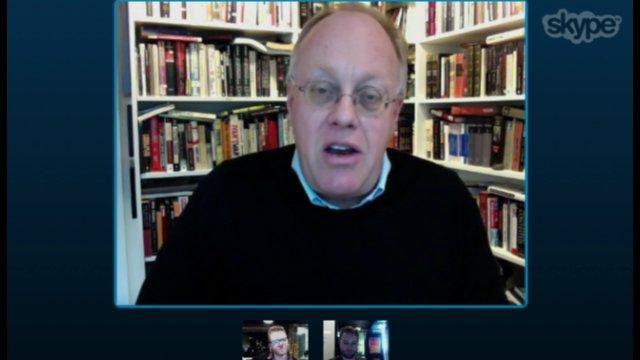 Kiltr: Loki interviewing American journalist Chris Hedges