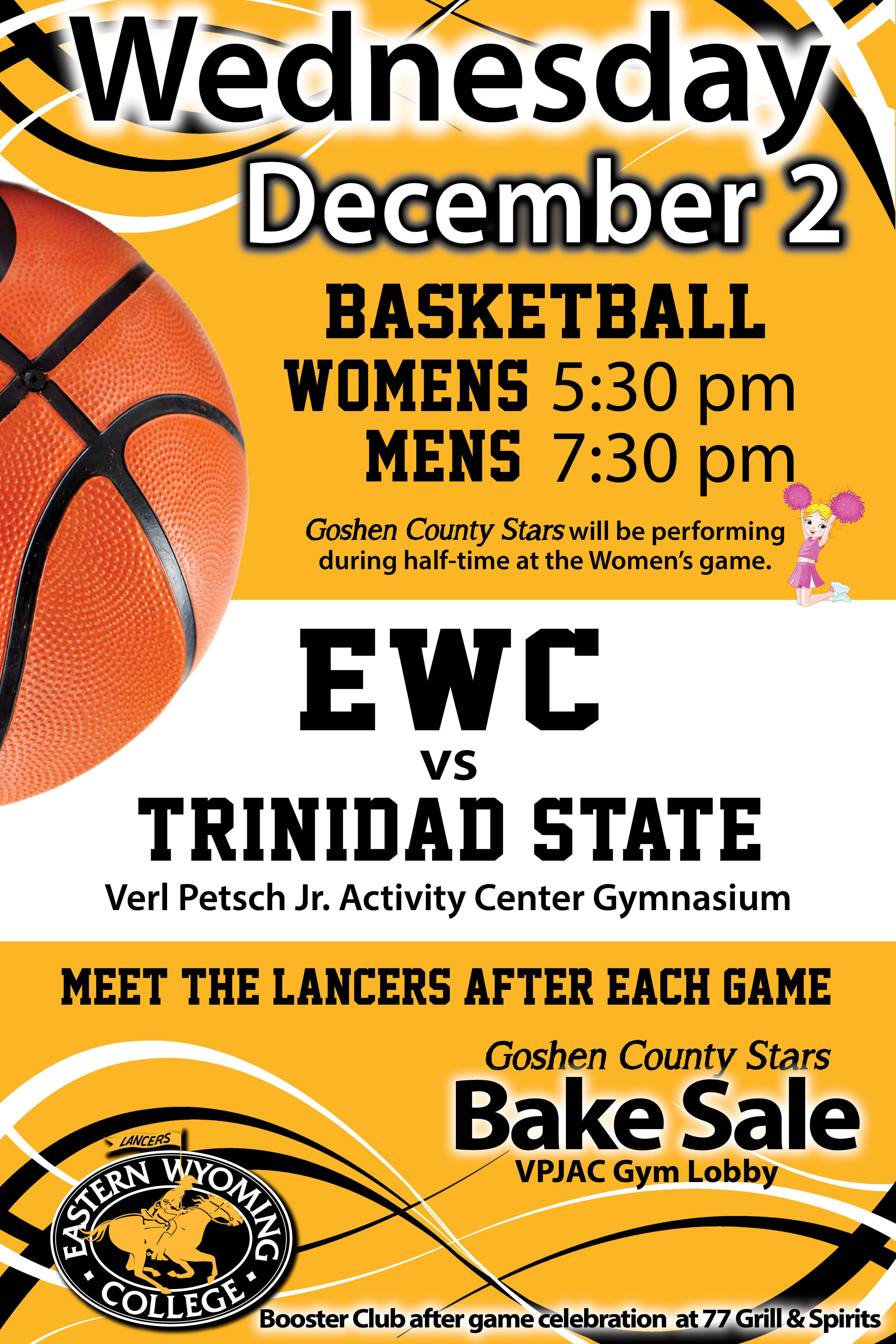 Women's and Men's Basketball Games - EWC vs. Trinidad ...
