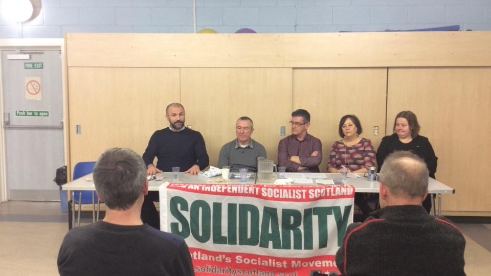 Solidarity Public Meeting Falkirk