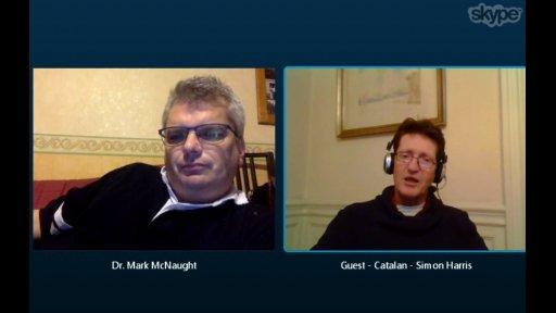 Talking Heads: Simon Harris & Dr Mark McNaught on progress in Catalonia