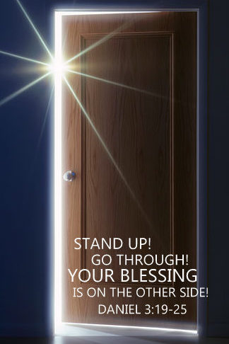 Stand Up Go Through Your Blessing Is On The Other Side On Livestream