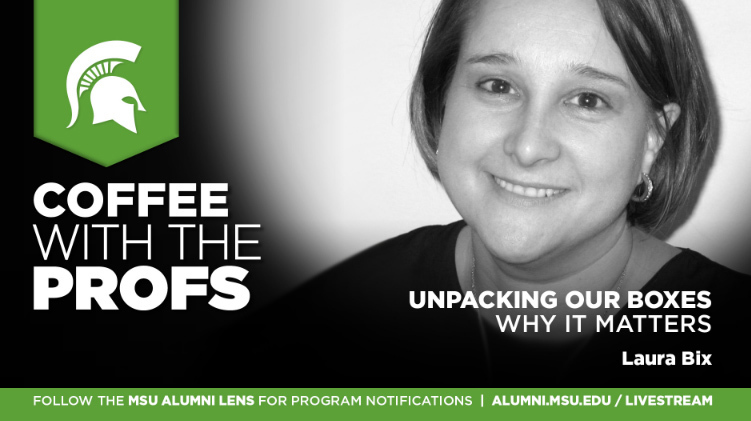 Livestream cover image for Laura Bix   Unpacking our Packages: Why it Matters