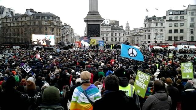 Stop Trident national demonstration, London