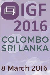 IGF 2016 Sri Lanka Colombo