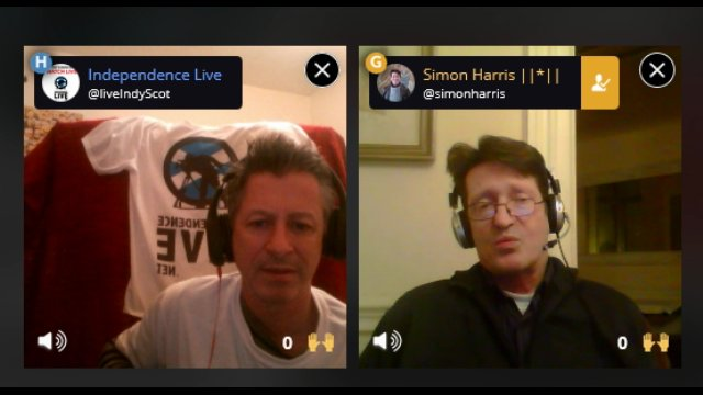 Simon Harris interview on Blab