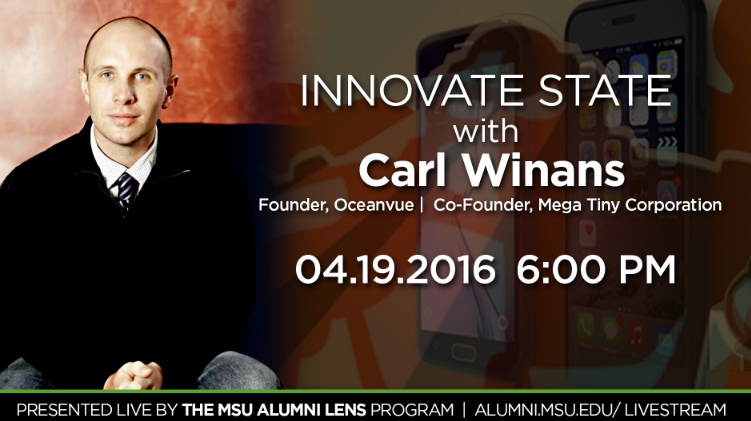 livestream cover image for Carl Winans  |  Innovate State