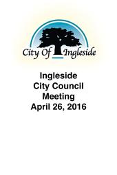City Council Meeting April 26, 2016