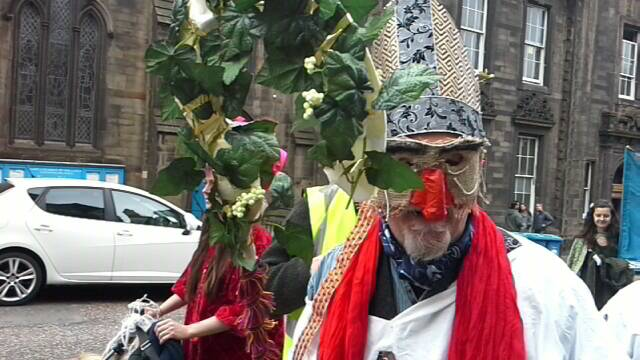 Edinburgh & Lothians May Day march and rally