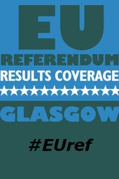 EU Referendum Night, from Glasgow Emirates #EUref