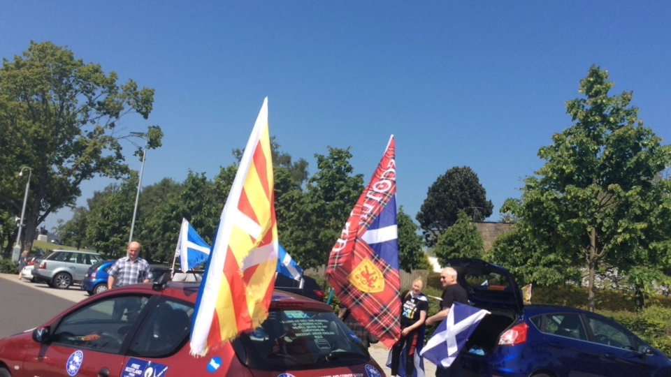 Indy Convoy to Robert the Bruce Rally