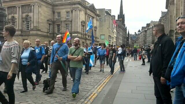 Scotland Marches for Europe