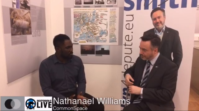 Nathanael Williams interview with Alyn Smith MSP
